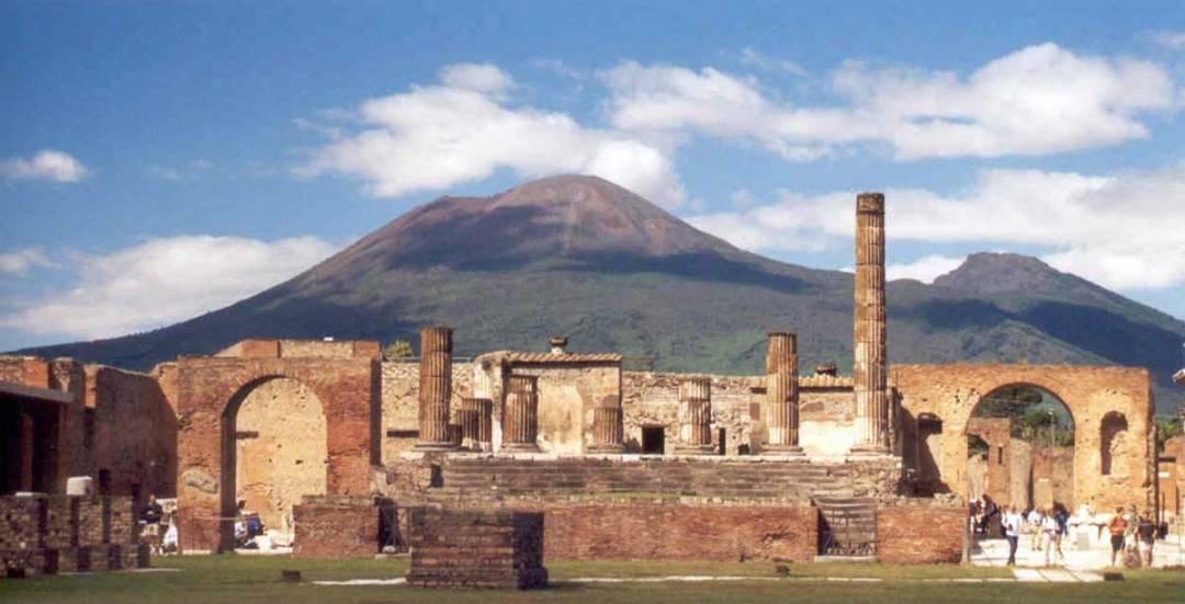 Il Vesuvio da Pompei