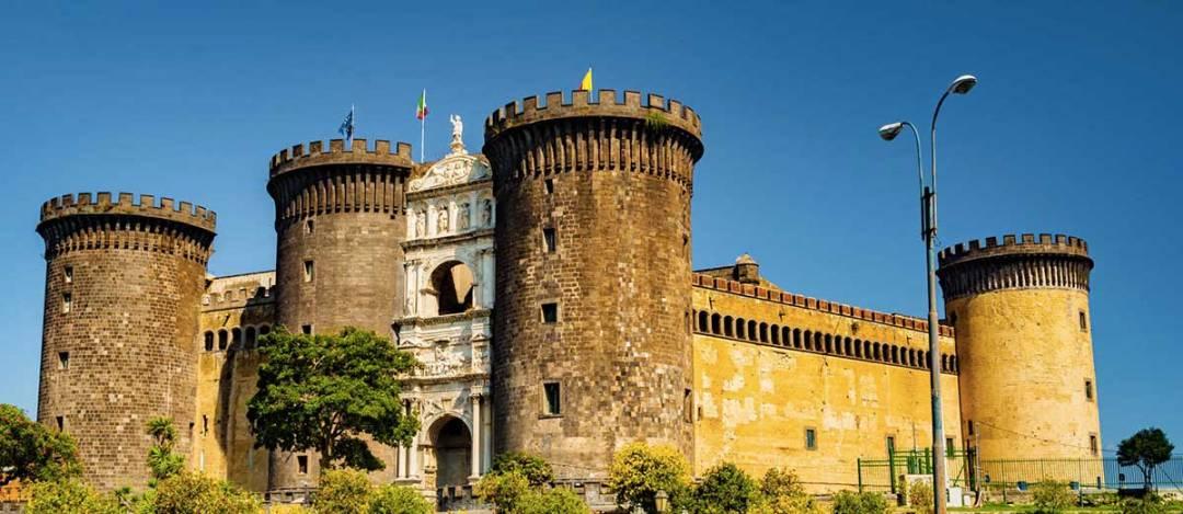 Castelli di Napoli Maschio Angioino