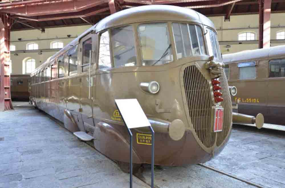 Museo di Pietrarsa Napoli - Locomotiva