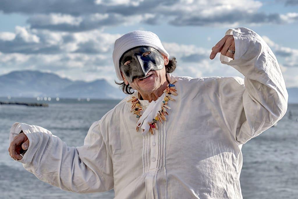 Carnevale maschera di Pulcinella Napoli - ph Valentina Formisano