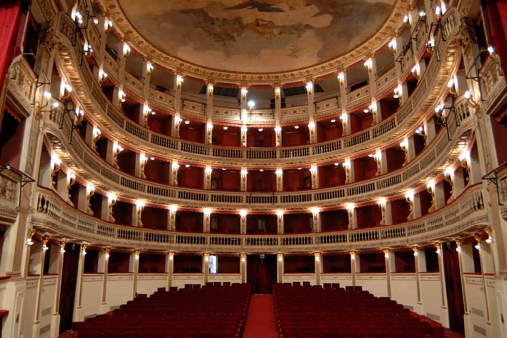 Teatro Mercadante - Teatro Stabile Napoli (interno)