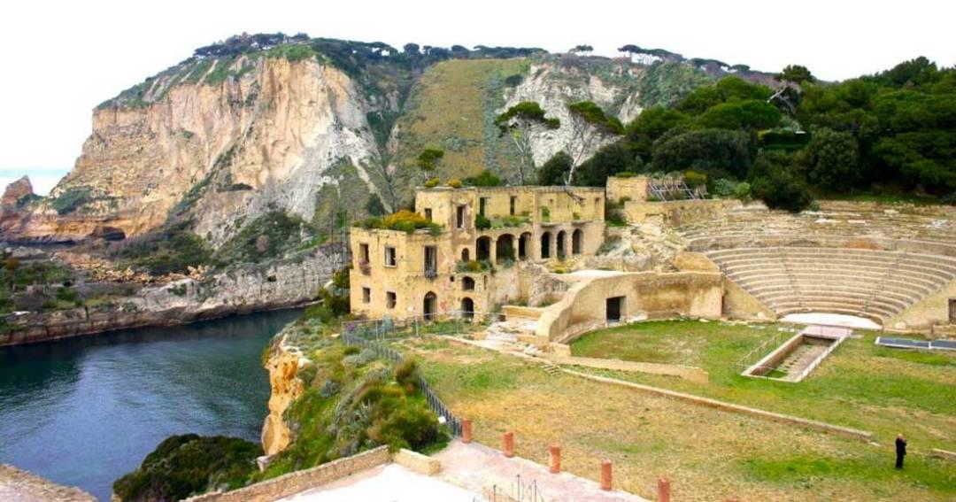 Parco archeologico di Pausilypon e Grotta di Seiano Napoli