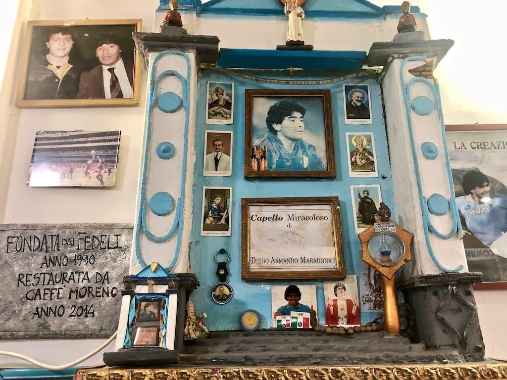 Altarino a Maradona