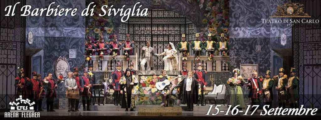 Il Barbiere di Siviglia all'Arena Flegrea
