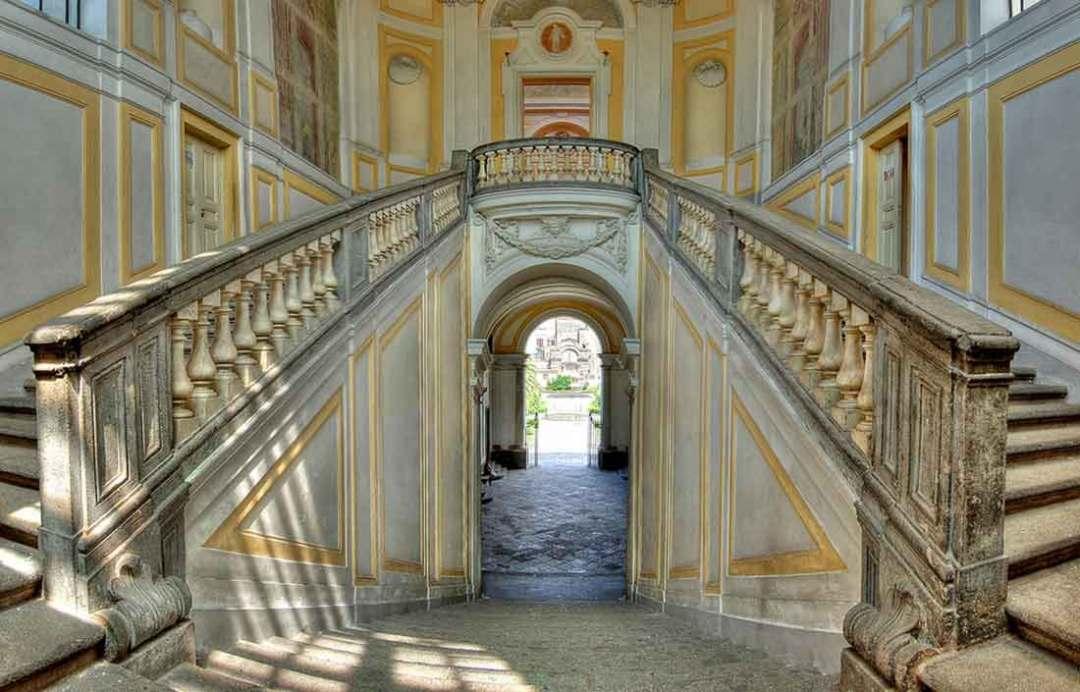 Miglio d'Oro Scalone Villa Campolieto