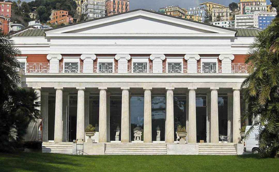 Sky Arte a Napoli: Villa Pignatelli