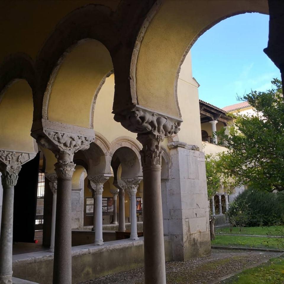 Benevento Chiostro di Santa Sofia