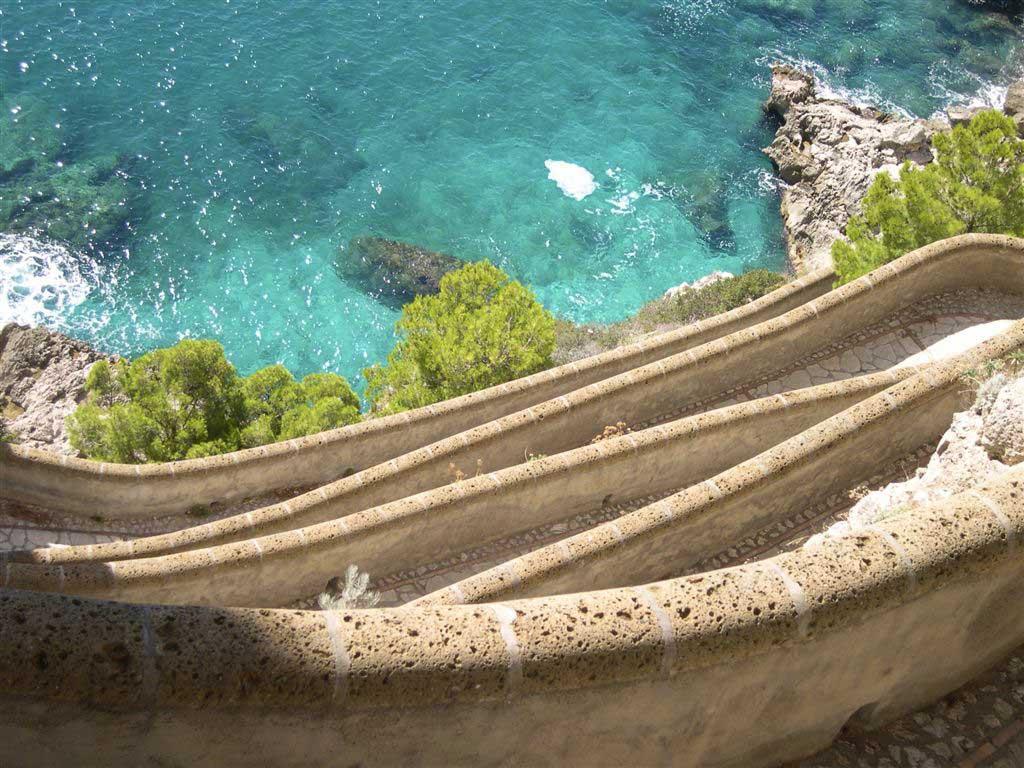 Naturismo - Spiaggia Via Krupp, Capri