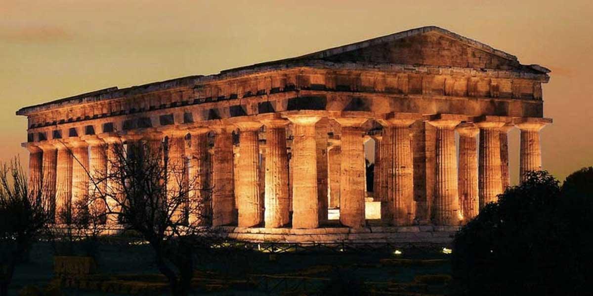 Guardando le stelle dei Greci al Parco archeologico di Paestum