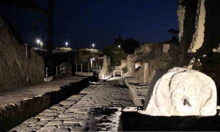 Scavi di Ercolano: al via le visite serali
