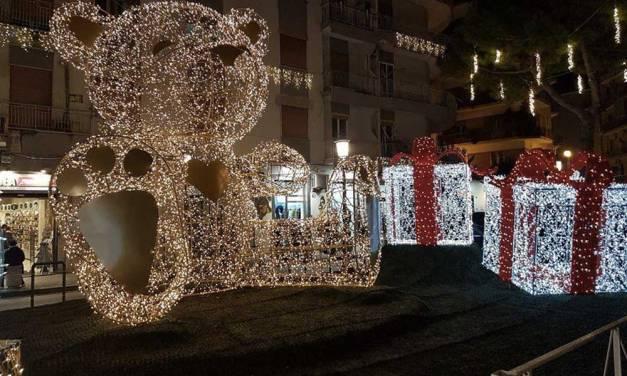 Luci d'Artista 2017 a Salerno