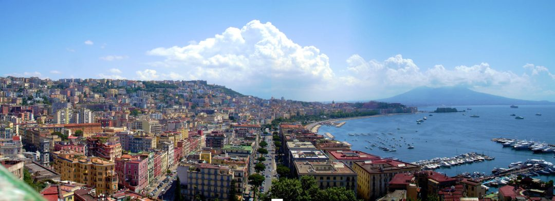 Panorama di Napoli da Sant'Antonio