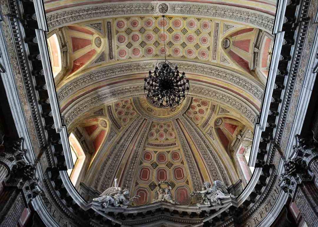Chiesa di San Potito Volta dell'abside