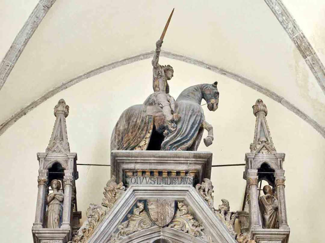 San Giovanni a Carbonara Ladislao di durazzo