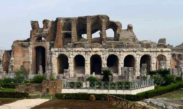 Visita all'Anfiteatro dei Gladiatori di Capua, la città di Spartaco