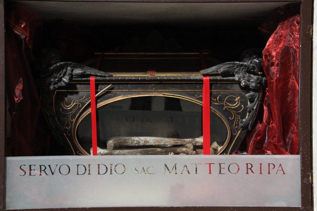 Matteo Ripa - Chiesa della Sacra Famiglia dei Cinesi