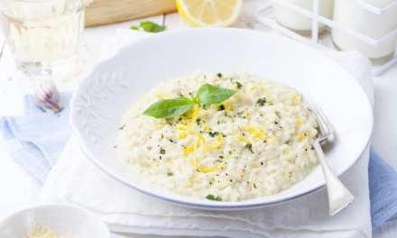 Risotto ai limoni di Amalfi: una ricetta profumata
