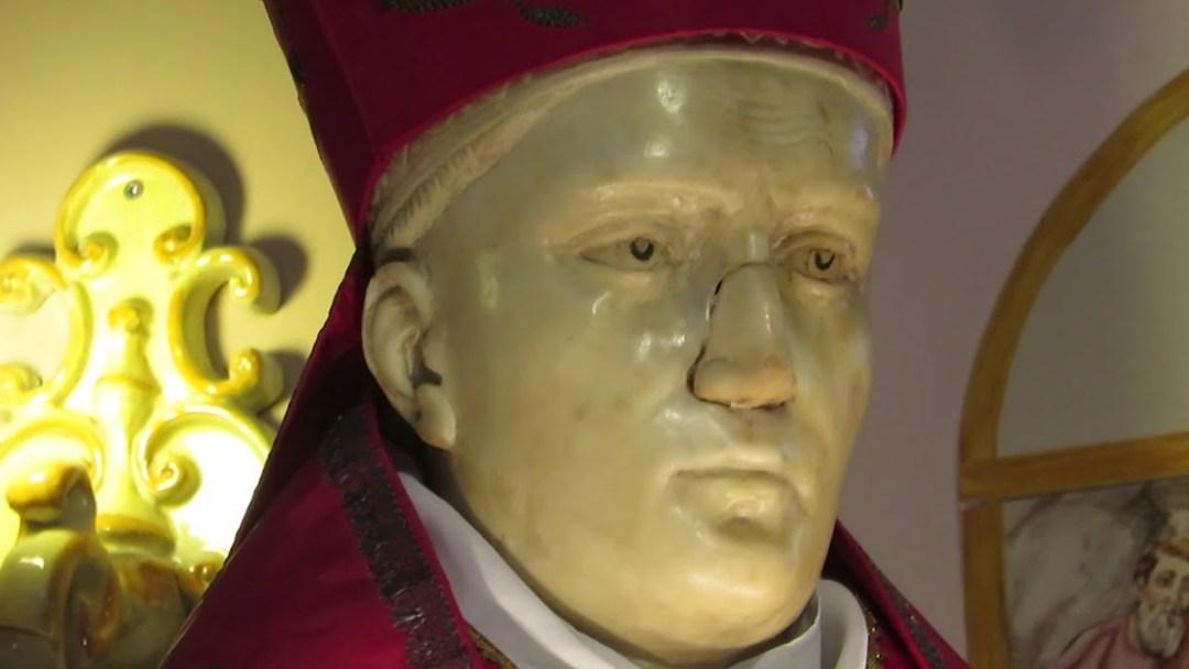 Busto di San Gennaro Santuario della Solfatara