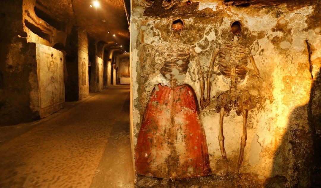 Catacombe di San Gaudioso Napoli 2