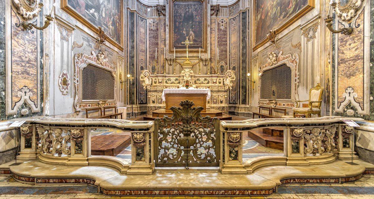 Tour serale alla Chiesa dell'Arte della Seta Napoli