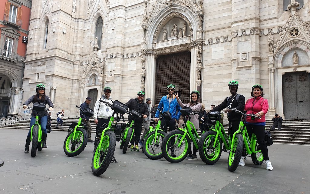 Napol'E-Bike, visitare Napoli in bicicletta