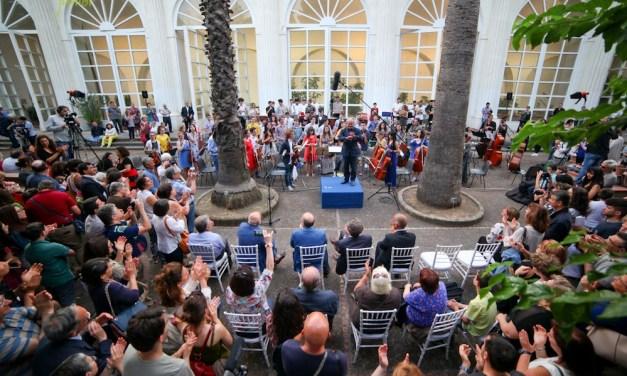 L'Orto Botanico di Napoli ospita l'Orchestra Scarlatti Junior