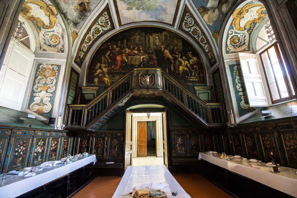 Monastero di Santa Maria Regina Coeli, Refettorio