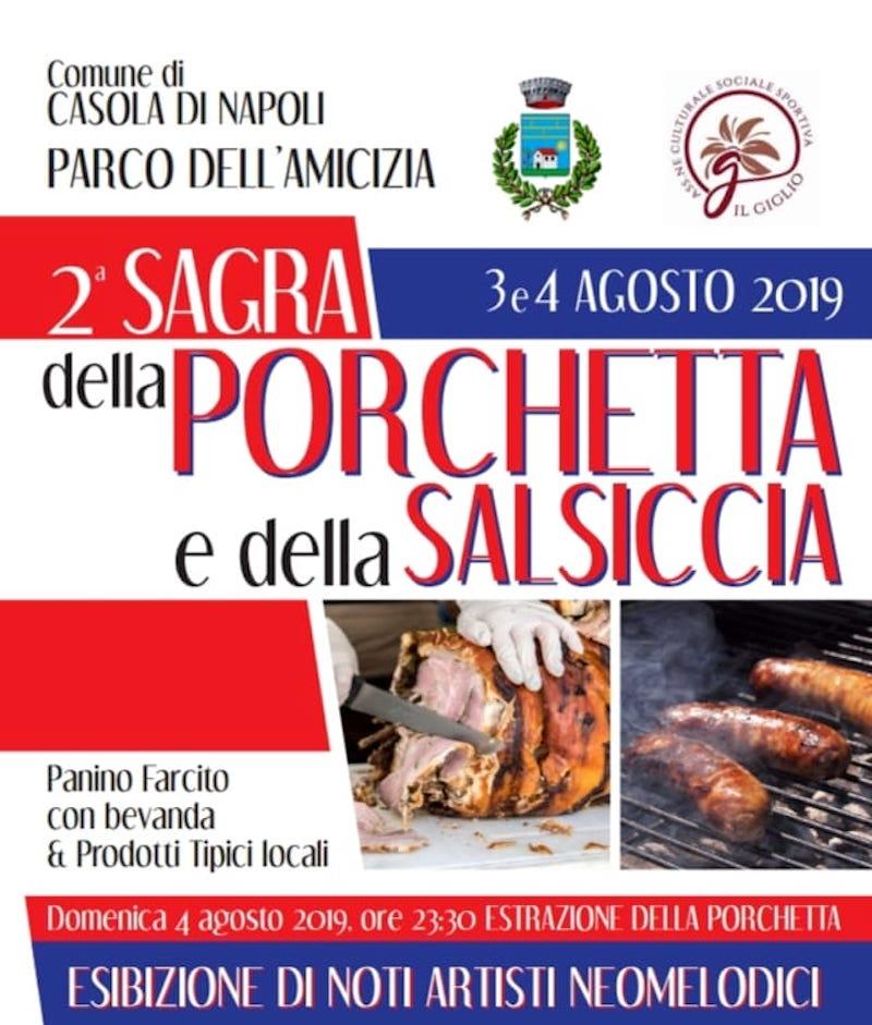 Sagra della Porchetta e della salsiccia Casola di Napoli
