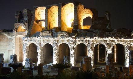 Visite guidate notturne all'AnfiteatroCampano a Santa Maria Capua Vetere