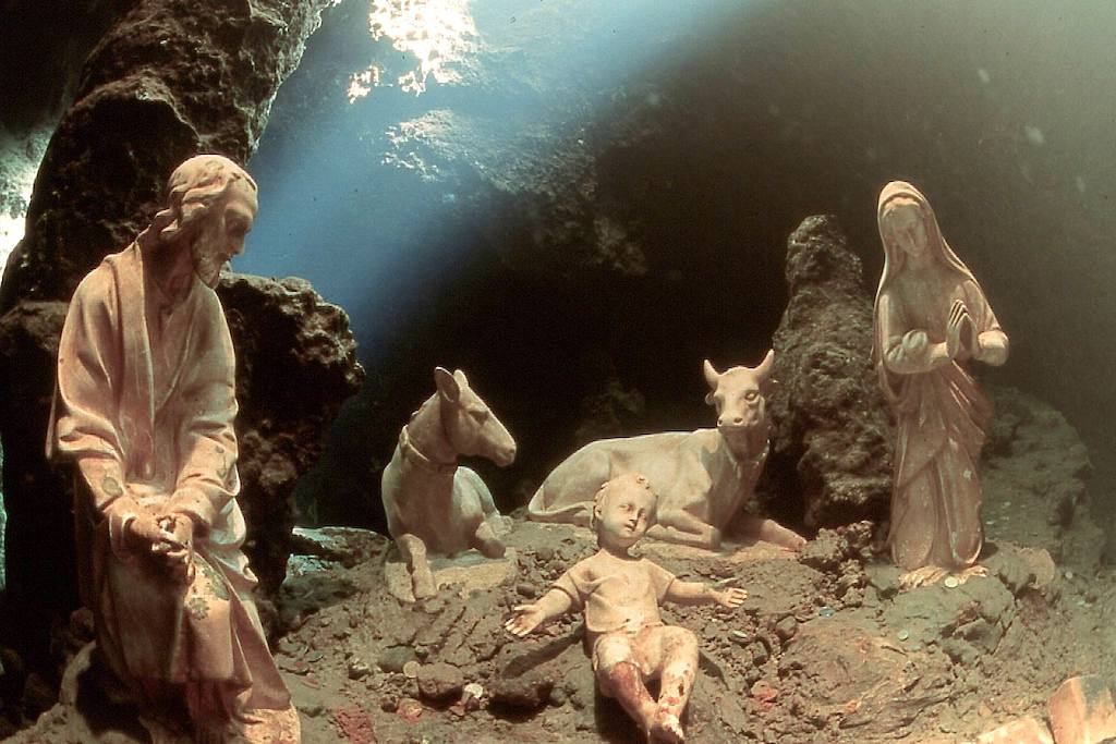 Presepe subacqueo Grotta dello Smeraldo