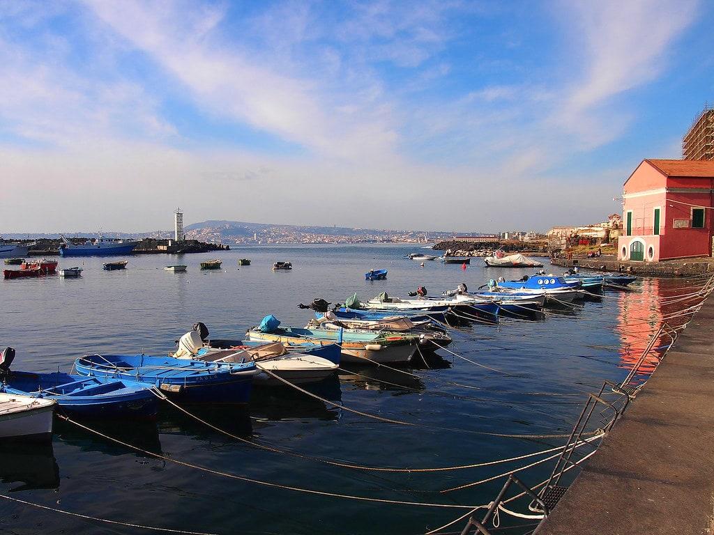 Molo del Granatello Portici (Napoli)