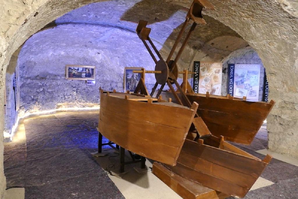 Mostra Leonardo da Vinci, Napoli