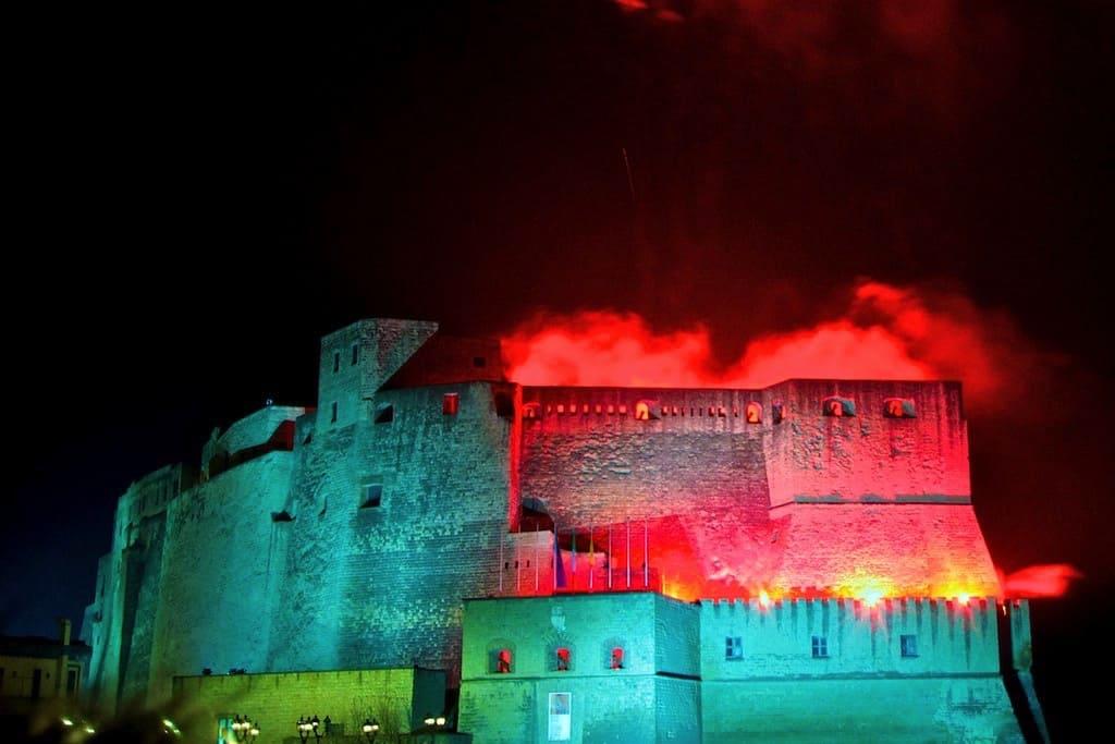 Castel dell'Ovo Capodanno a Napoli