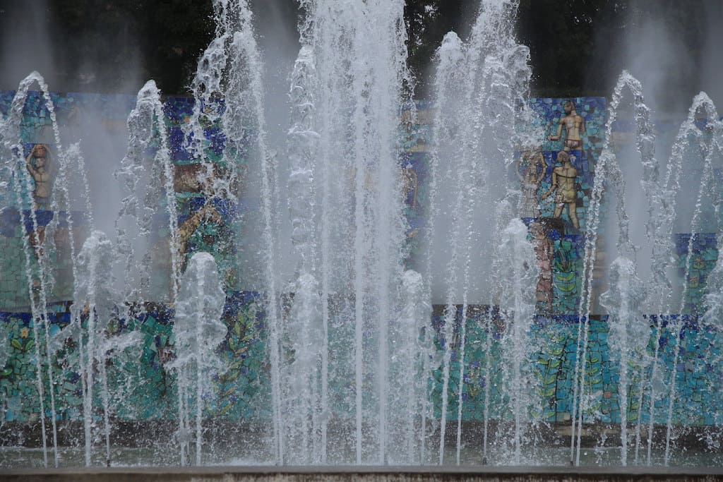 Mostra d'Oltremare Fontana dell Esedra