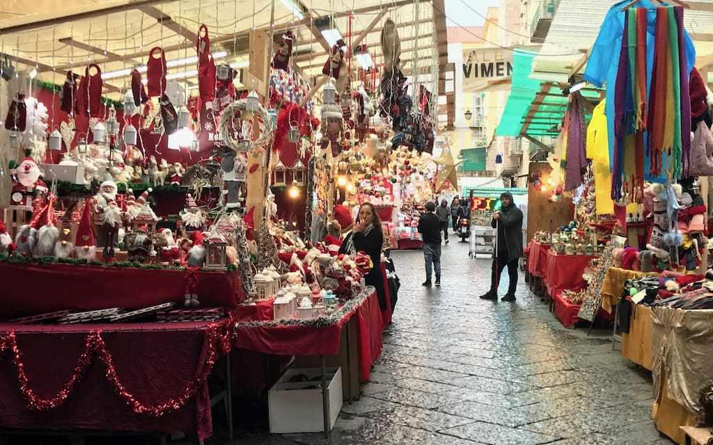 I Mercatini di Natale 2019 a Napoli, ma non solo
