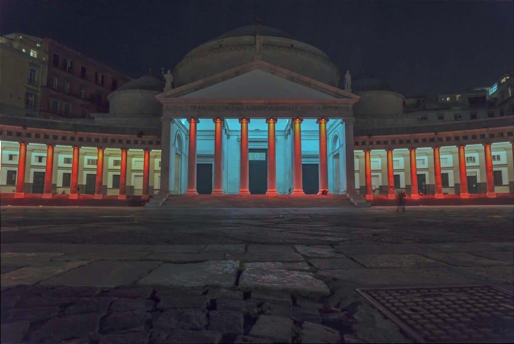 Piazza del Plebiscito di notte