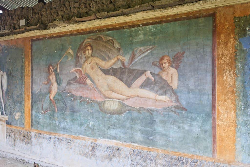 Casa della Venere in Conchiglia a Pompei