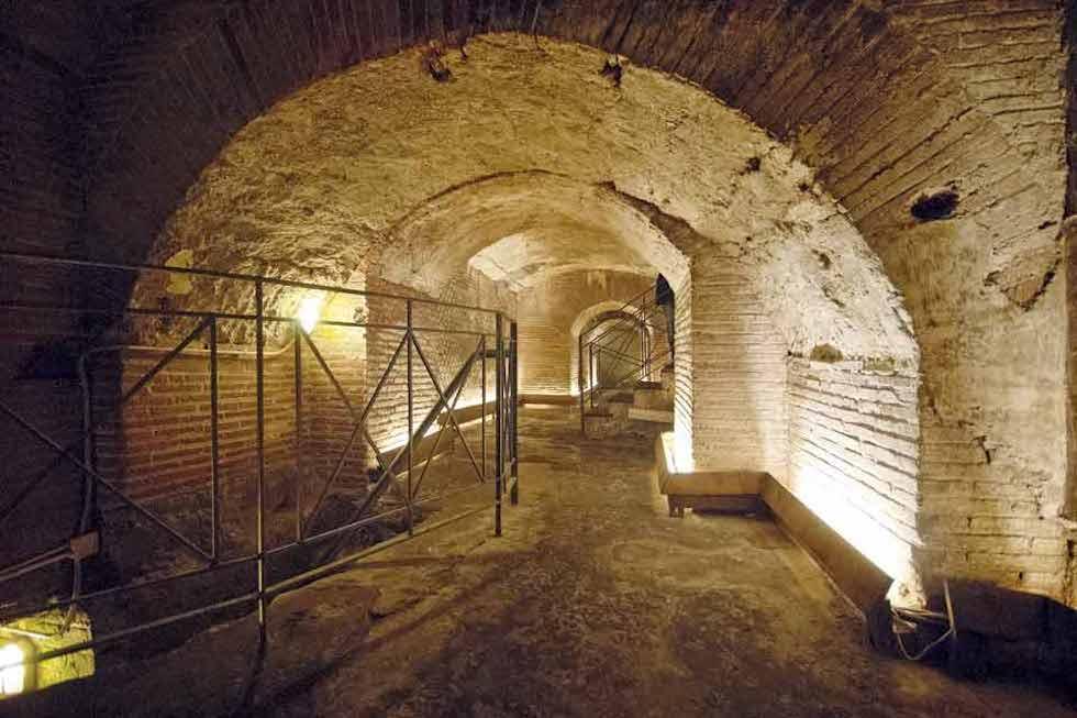 Teatro Romano Corridoio sotterraneo