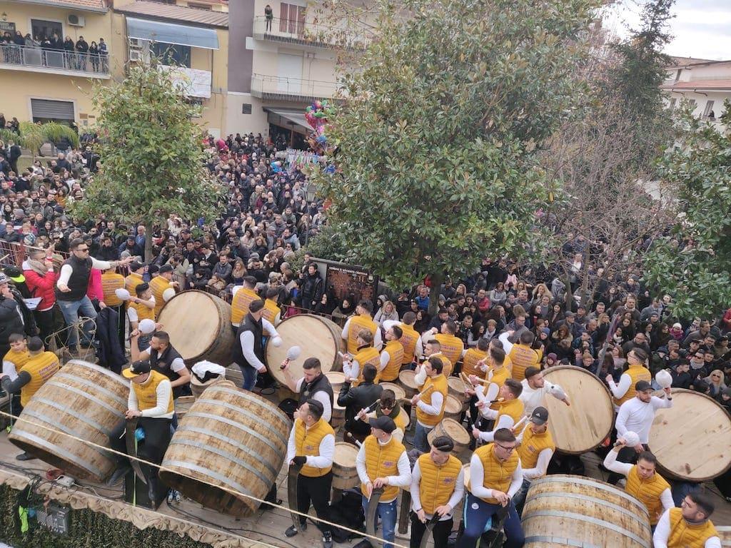 Festa di Sant'Antuono Macerata Campania