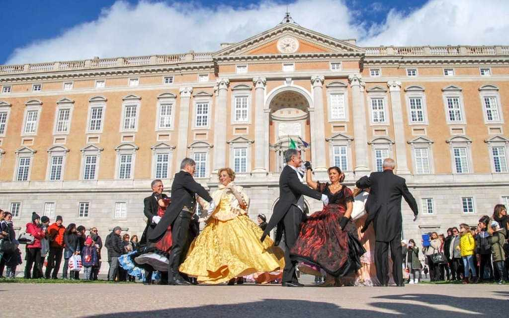 Reggia di Caserta, mattinata danzante e ingresso gratuito