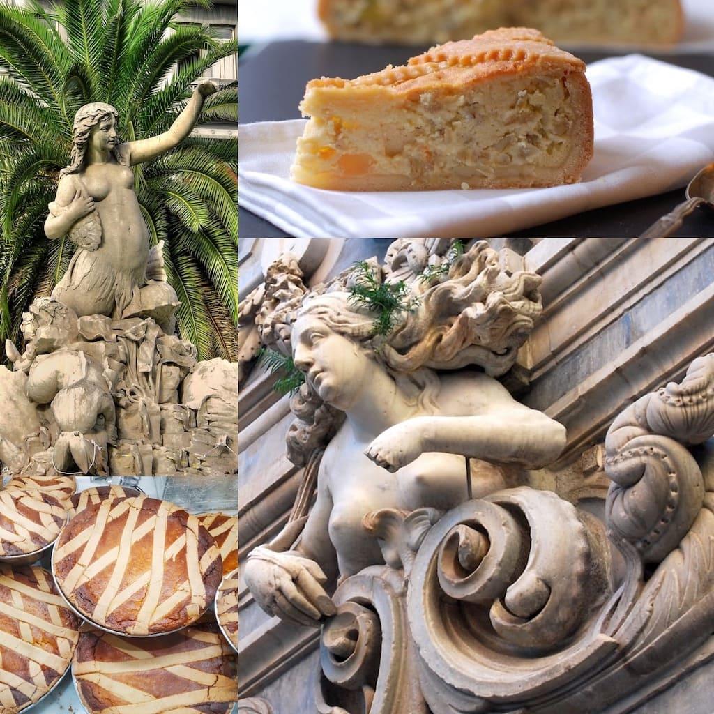 La Pastera Napoletana e la sirena Partenope