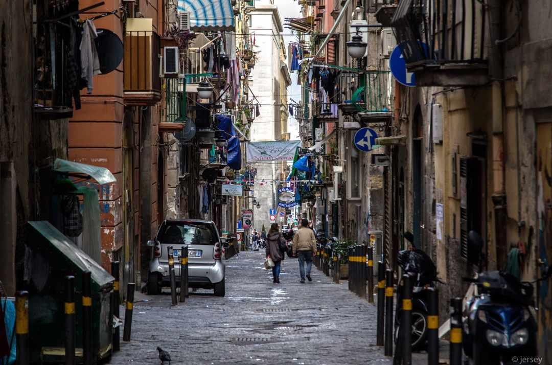 Napoli Quartieri spagnoli - PH. jerseyno12002