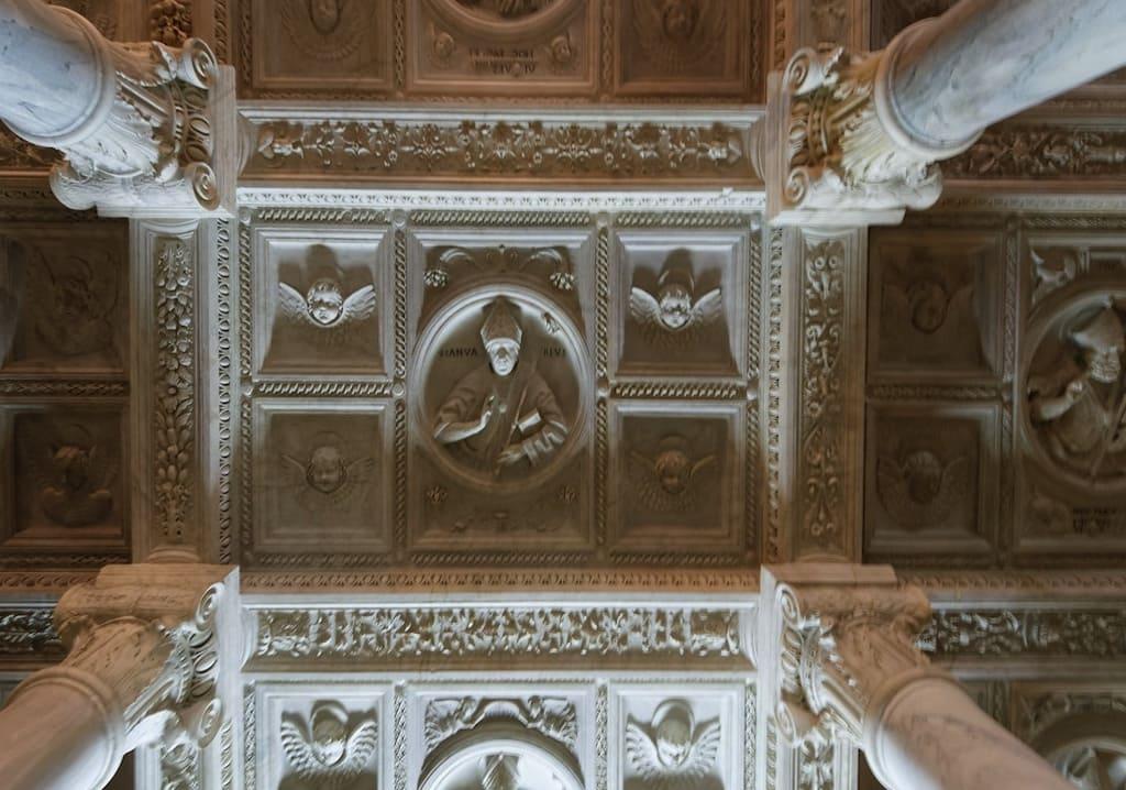 Cappella del Succorpo, Soffitto