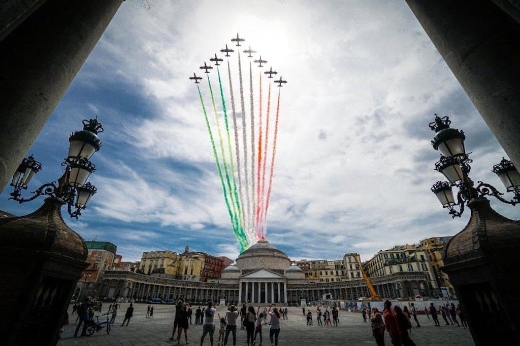 Festa della Repubblica, Frecce Tricolori a Napoli
