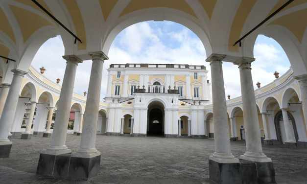 Villa Campolieto a Ercolano, la bella del Miglio d'Oro