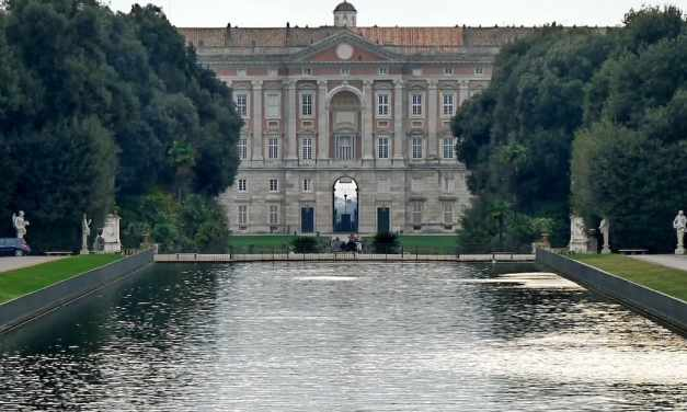 Le meravigliose fontane della Reggia di Caserta