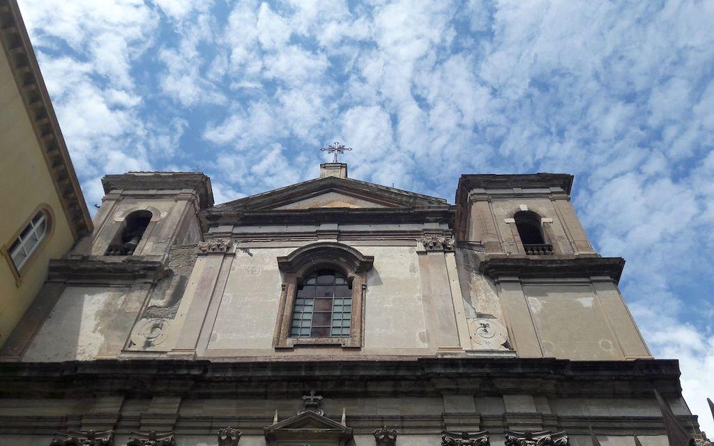 Chiesa di Gesù e Maria, salita Pontecorvo Napoli