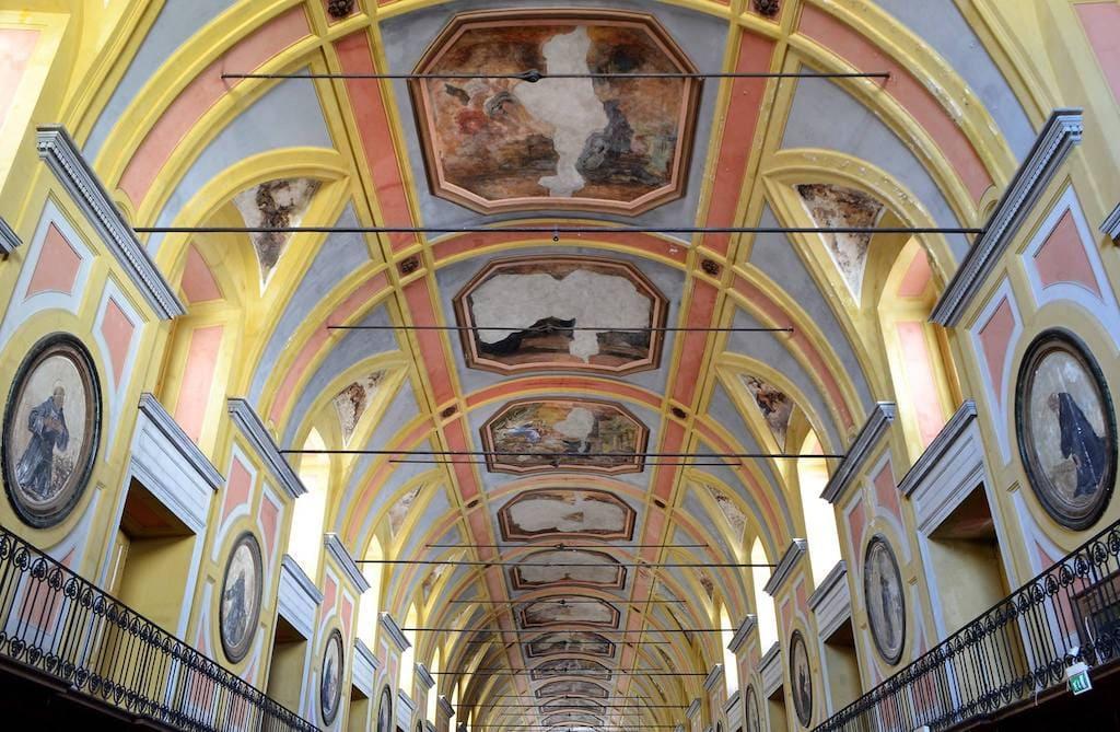 Sala del Lazzareto ex Ospedale della Pace Napoli