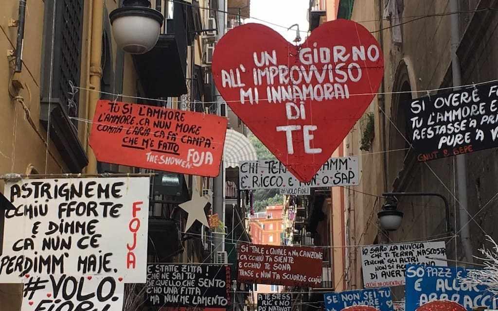 Festeggia San Valentino insieme a noi, tre percorsi a Napoli