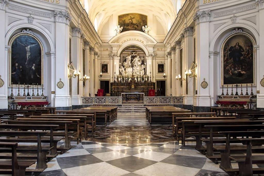 SS. Trinita dei Pellegrini Napoli
